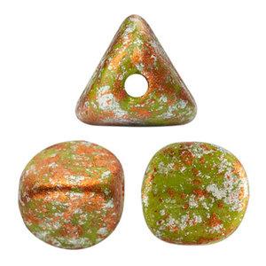 ILOS® PAR PUCA® kralen Opaque Green Tweedy (10 gr)