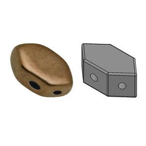PAROS® PAR PUCA® kralen Dark Gold Bronze (10 gr)