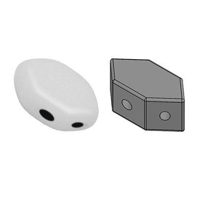 PAROS® PAR PUCA® kralen Opaque White (10 gr)