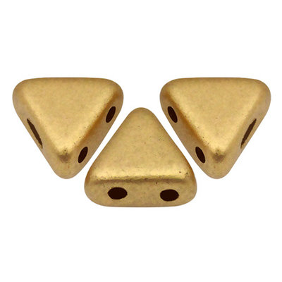 Perles par Puca® Khéops® kralen 6 mm Light Gold Matte (10 gram)