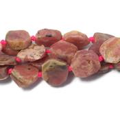 Rhodochrosiet kralen nuggets (streng)
