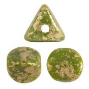ILOS® PAR PUCA® kralen Opaque Green Splash (10 gr)