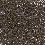 Miyuki delica kralen 11/0 duracoat opaque dyed ash grey DB-2365 (tube 7,2 gr)