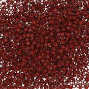 Miyuki delica kralen 11/0 duracoat opaque dyed barn red DB-2354 (tube 7,2 gr)