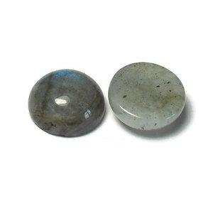 Labradoriet cabochon 12 mm (p/st)