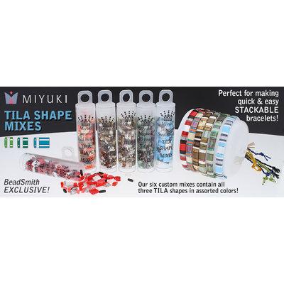 Miyuki tila mix - nuts (tube 7,2 gr)