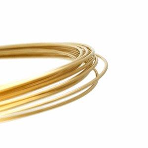 Goldfilled 14kt draad Dead Soft 21 gauge (0,7230 mm)