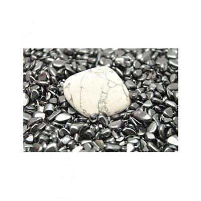 Hematiet ontlaad steentjes
