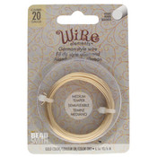 BeadSmith Wire elements - 20 gauge 'Gold' semi-flexibel