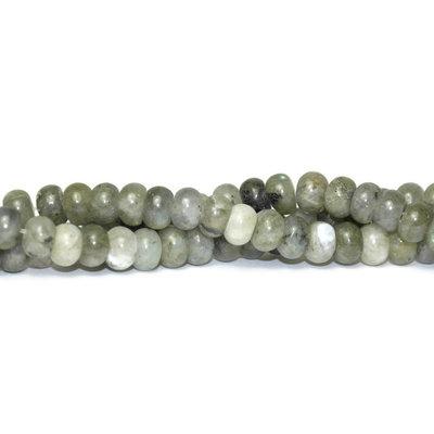 Labradoriet kralen 6x4 mm abacus (streng)