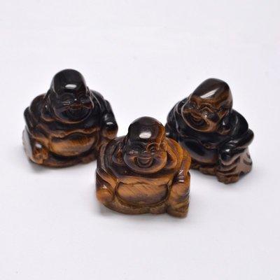Boeddha beeldje tijgeroog (1st)