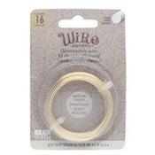 BeadSmith Wire elements -16 gauge 'Gold' semi-flexibel