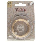 BeadSmith Wire elements -22 gauge 'Gold' semi-flexibel