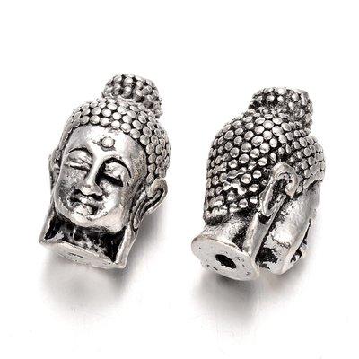 Boeddha kraal 23.5x14x13mm (p/st)