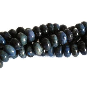 Dumortieriet kralen 4x6 abacus (streng)