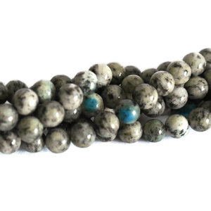 Jaspis - K2 jaspis kralen 8 mm rond (streng)
