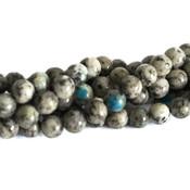 Jaspis - K2 jaspis kralen 6 mm rond (streng)