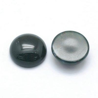 Agaat - mos agaat cabochon 12 mm