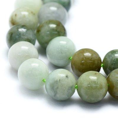 Jade (jadeiet) kralen 8 mm rond (streng)