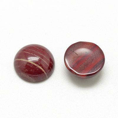 Jaspis - rode jaspis cabochon 12 mm