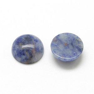 Blue spot cabochon 20 mm