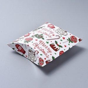 Cadeauverpakking Kerst - Merry Christmas (p/st)