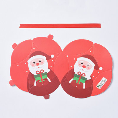 Cadeauverpakking Kerst - Kerstman (p/st)