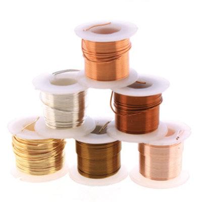 BeadSmith Wire elements - 24 gauge assortiments verpakking
