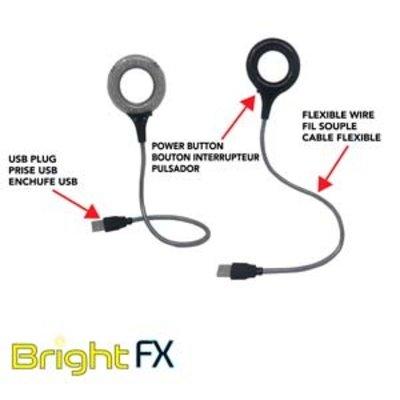 USB 18 led licht met flexibele arm
