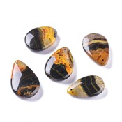 Jaspis - Bumblebee Jaspis hangers