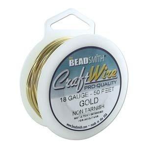 BeadSmith Craft Wire 'Gold' - 18 gauge - voordeelverpakking