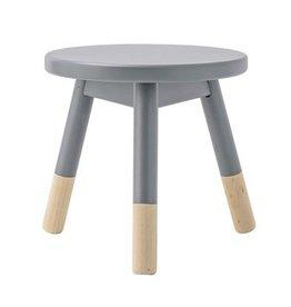Bloomingville Bloomingville stool grey pine 30x30 cm