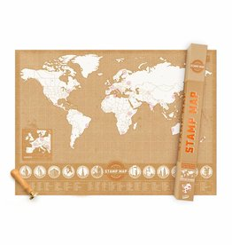 Luckies of London Luckies stamp map