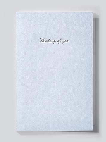 Papette Papette Heaven greeting card 'Thinking of you'