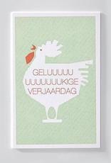 Papette Papette Enna greeting card with enveloppe geluuuukige verjaardag