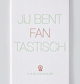 Papette Papette Enna greeting card with enveloppe jij bent fantastisch