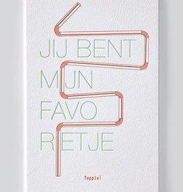 Papette Papette Enna greeting card with enveloppe jij bent mijn favorietje