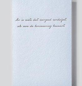 Papette Papette Heaven greeting card with enveloppe er is niets dat voorgoed verdwijnt