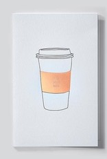 Papette Papette Mytype greeting card with enveloppe like you a latte