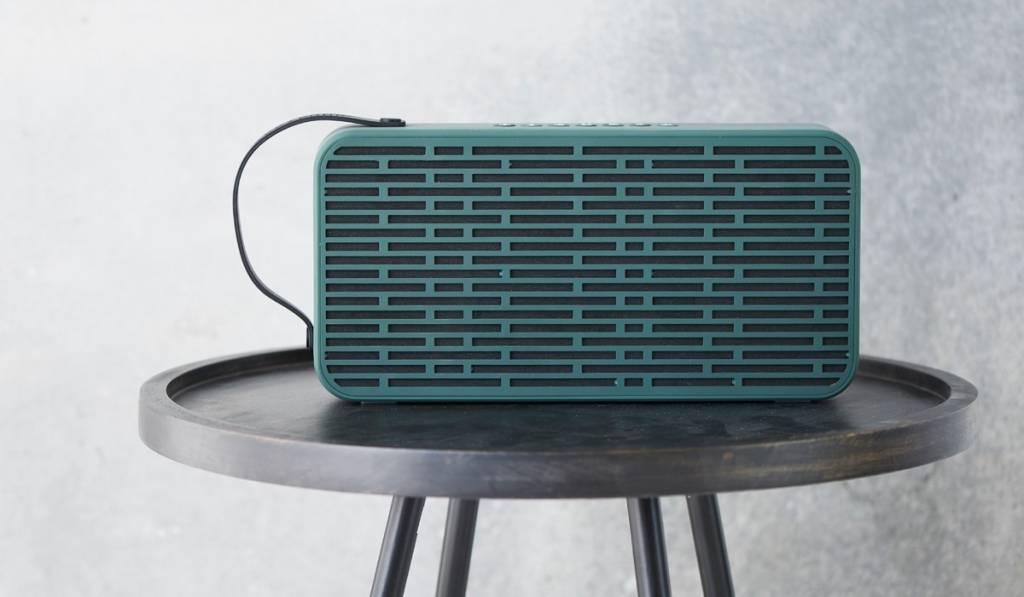 Kreafunk Kreafunk aSound stereo speaker army green