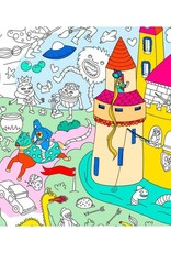OMY Omy coloring poster 100 x 70 Magic