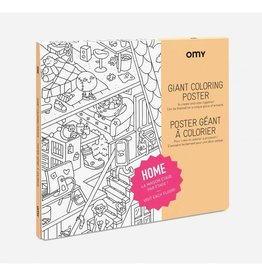OMY Omy coloring poster 100 x 70 Home