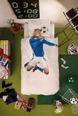 Snurk Bedding Snurk Soccer Champ Blue 140 x 200/220