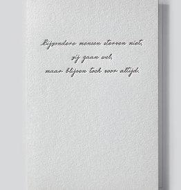 Papette Papette Heaven greeting card 'bijzondere mensen'