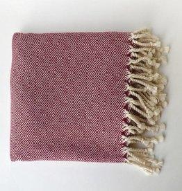 Bon Bini Bon Bini towel Nibokoko Burgundy