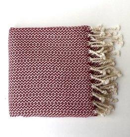 Bon Bini Bon Bini towel Sabadeco Burgundy