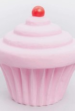 Little Lamp Company Cupcake lamp pastel pink + cherry 22 cm