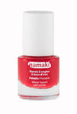 Namaki nail polish kids 7.5 ml coral red