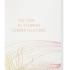Papette Papette MUS greeting card 'you look so stunning'