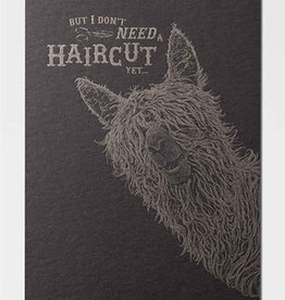 Papette Papette Lol greeting card with enveloppe haircut